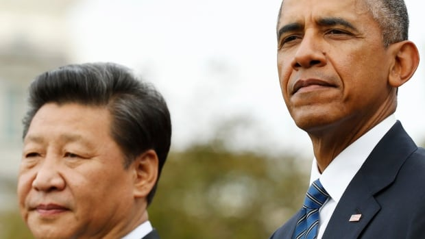 U.S. President Barack Obama meets Chinese President Xi Jinping in March in Washington. China appears to be calculating that the United States will let the South China Sea dispute slide.