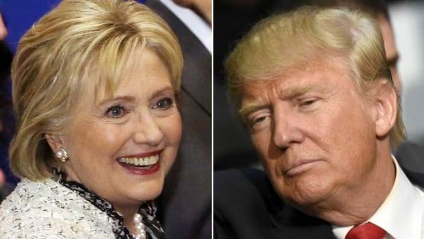 OpenText's chief marketing officer says information they've collected shows the tone being used during the U.S. presidential race involving front-runners Hillary Clinton and Donald Trump is 'very negative.'