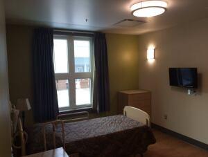 Alexander McDonald Lodge bedroom