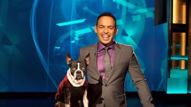 This Hours Has 22 Minutes star Shaun Majumder's brought his dog Jazzy to Riverview, N.B. for cataract surgery.