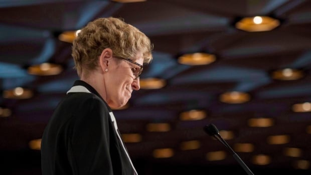 Ontario Premier Kathleen Wynne says the Ontario Student Grant will cover average tuition for more than 150,000 students and make it more affordable for thousands more. (Justin Tang/Canadian Press)