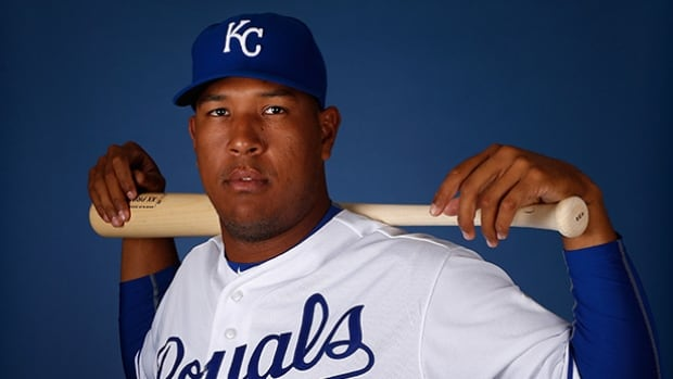 Salvador Perez signed a club-friendly deal with the Royals four years ago in part so his mother, Yilda, would no longer have to work in their increasingly violent hometown in Venezuela.