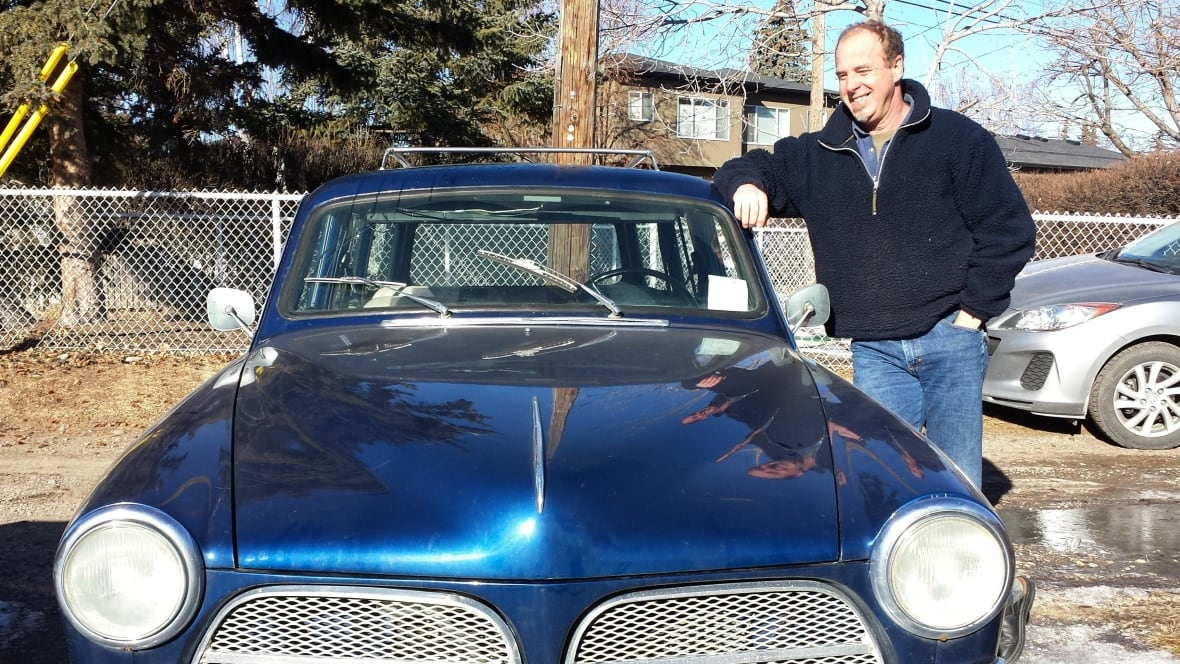 Calgary Man Converts Classic Cars Into Electric-powered