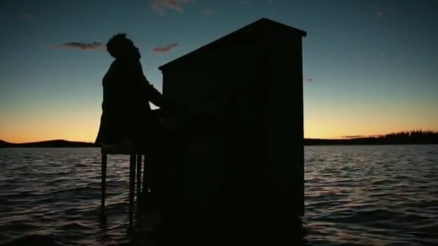 Jeffrey Straker brought a 100-year-old piano into Reindeer Lake in northern Saskatchewan for his new video.