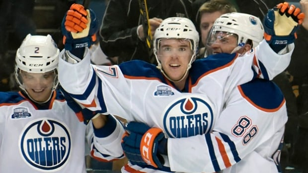 Connor McDavid took over the showdown versus Buffalo's Jack Eichel on Tuesday, scoring twice, including the overtime winner in a 2-1 victory for Edmonton.