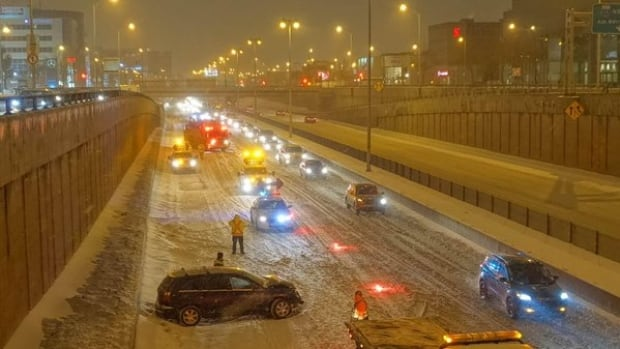 Montreal winter storm March 2