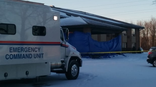 Guelph police say a 35-year-old hotel employee was fatally shot Tuesday and suspect the shooting was likely targeted.