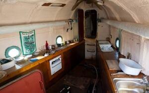 inside whaleboat