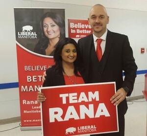 Jamie Hall and Rana Bokhari