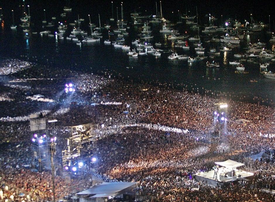 ROLLING STONES Bigger Bang at Copacabana Rio 2006