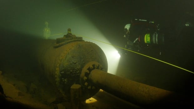Bell Island Mine diving