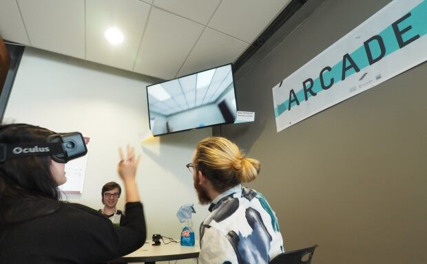 Arcade 11 virtual reality