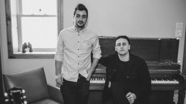 Ottawa duo Dear Blackwolf performs Friday night at Irene's Pub.