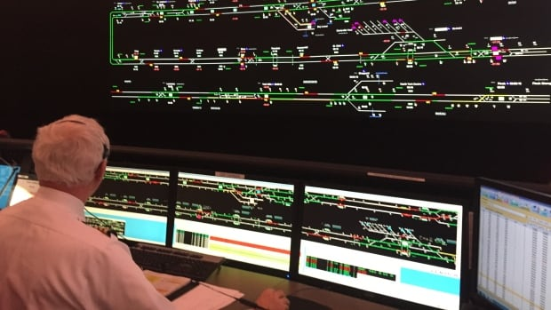 TTC Transit Control is where staff monitors every train, streetcar and bus on the road in the city. Crews are dispatched from this room to prevent delays on the system.