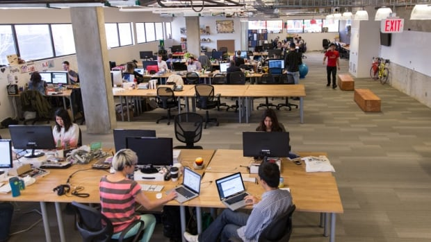 The hackathon will be held at Hootsuite's Vancouver headquarters, seen here. About 90 digital developers will Vancouver non-profits with technology problems over 36 hours this weekend.