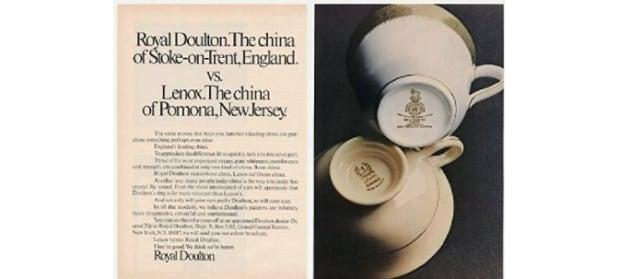 Royal Doulton ad