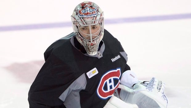 "Injured Canadiens goaltender Carey Price on Thursday faced shots for the first time since aggravating a lower-body injury in a Nov. 25 game against the Rangers in New York. He reported making ""steady progress"" and is ""pretty confident"" he'll play at least one of Montreal's final 18 games of the regular season. ""The last couple of weeks I feel I've turned the corner,"" says the reigning NHL MVP."