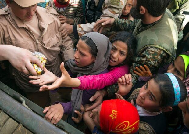 Maarzaf near Hama Syria Russian relief March 2 2016