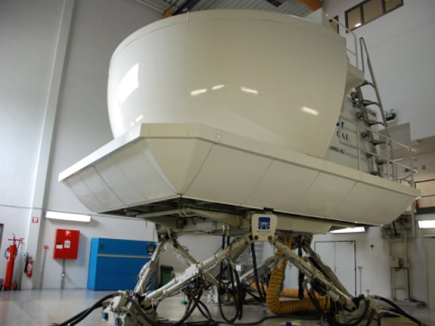 flight simulator CAE