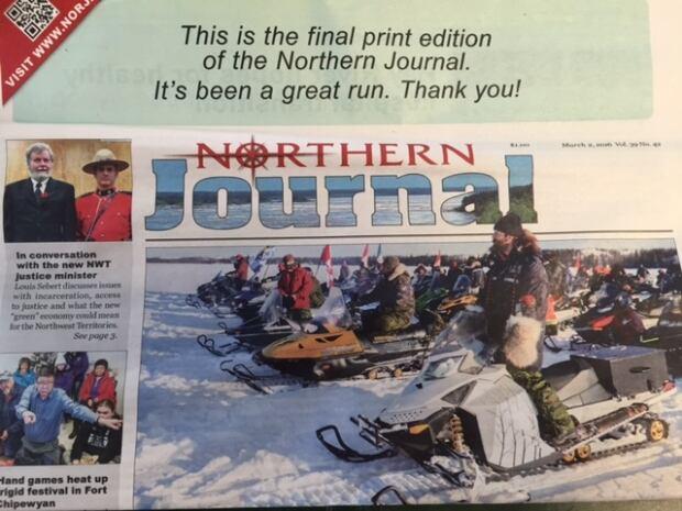 Northern Journal last edition