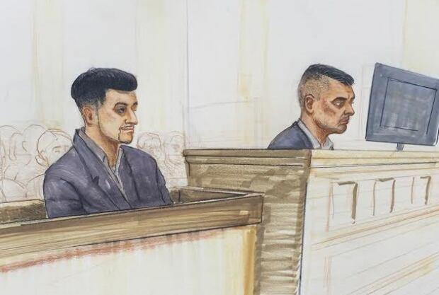 Gursimar Bedi  (left) Gurjinder 'Gary' Dhaliwal (right)