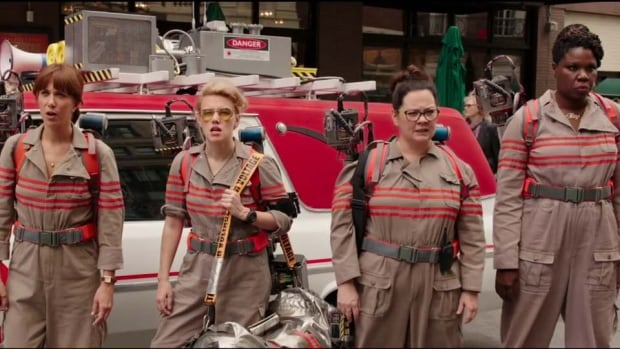 A trailer for the anticipated new Ghostbusters reboot has debuted online.