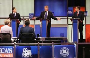 Trump Rubio Cruz debate