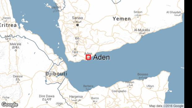 Aden-yemen-map