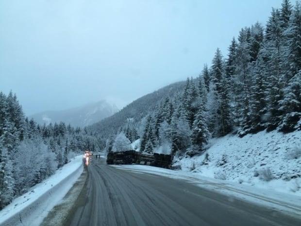 Mount Robson tanker truck crash