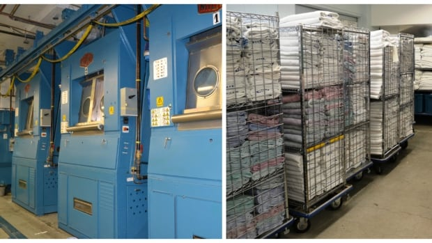 Laundry machines at Royal Inland Hospital in Kamloops, B.C. will now sit idle after Ecotex was awarded a 20-year contract to do laundry at five Interior hospitals.