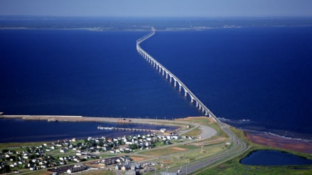 The cables that link P.E.I. and New Brunswick are buried close to the Confederation Bridge.