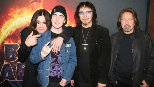 Jacob Putt had his wish granted when he got to see Black Sabbath and also meet the band.