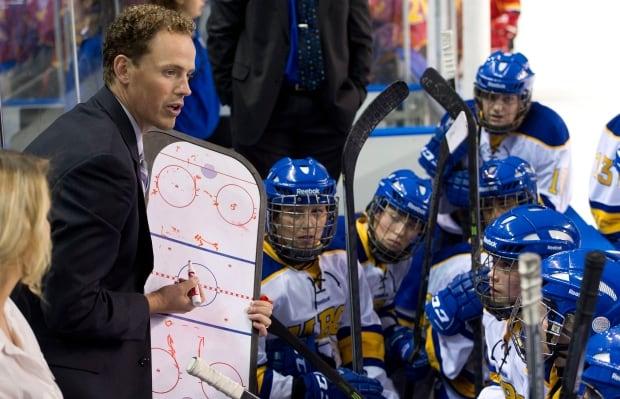 Graham Thomas, UBC hockey coach