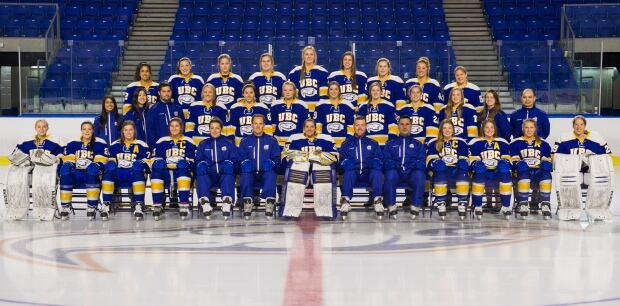 UBC 2016 hockey team