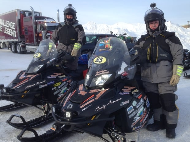 Cain's Quest 2016 Team Mary's Harbour Backcountry Riders