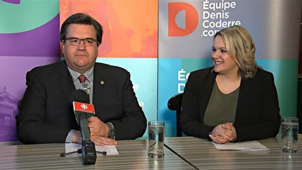 Christine Black, right, is Mayor Denis Coderre's choice to run in an upcoming byelection.