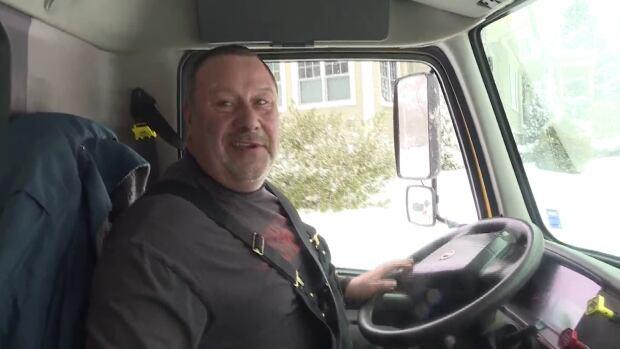 Plow operator Mike Williams