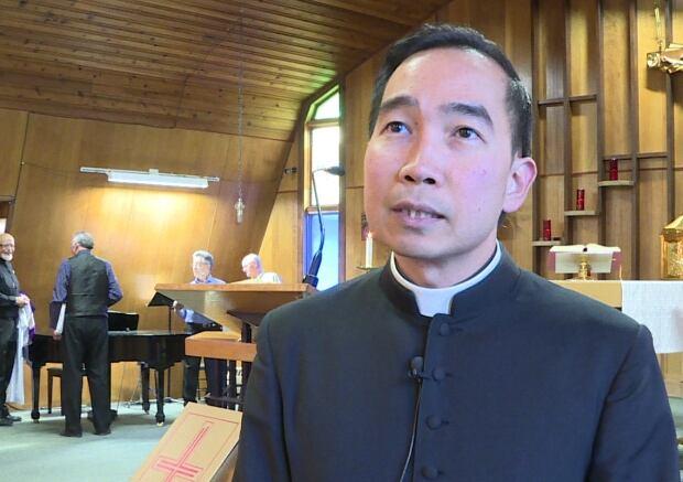 Father Wilbert Chin Jon
