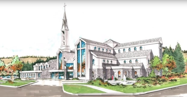 Our Lady of the Rockies Catholic Parish, new building