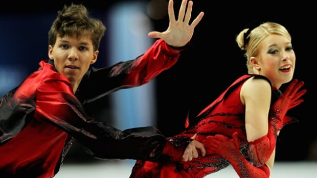 Ekaterina Bobrova, right, has competed with partner Dmitry Soloviev since 2000. They won gold at the 2015-16 Russian championships and bronze at the European Championships.