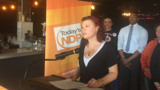 Kirkfield Park candidate Sharon Blady said the NDP plans to increase funding to support the LGBT community if re-elected.