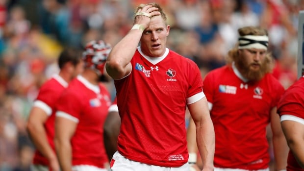 John Moonlight is the captain of Canada's rugby sevens squad.