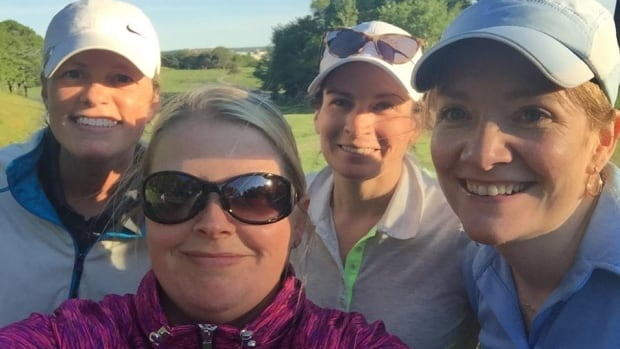 Members of the Metro Ladies Golf club enjoy a round. Club founder Sara Wilson is calling on the world of golf to be more inclusive in honour of International Women's Day.