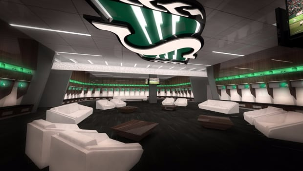 The Roughriders released images of their new facilities in Mosaic Stadium on Monday.