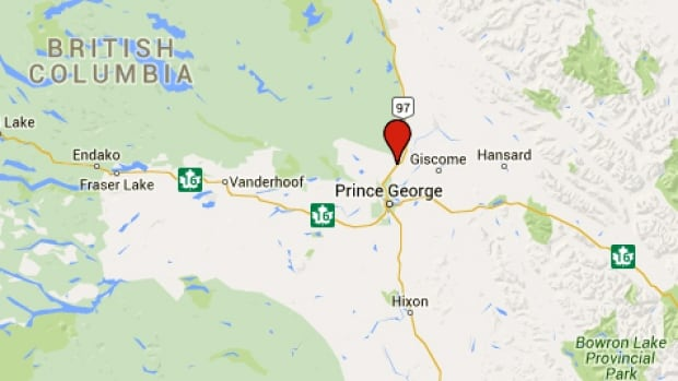 A search and rescue effort is underway on the Salmon River near Prince George, B.C.