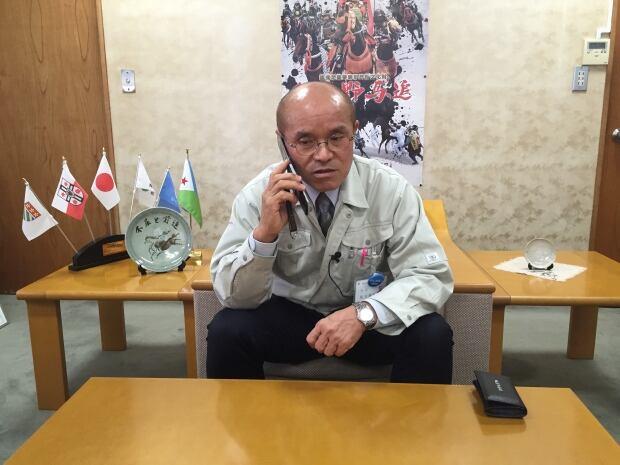 Minamisoma Mayor Katsunobu Sakurai