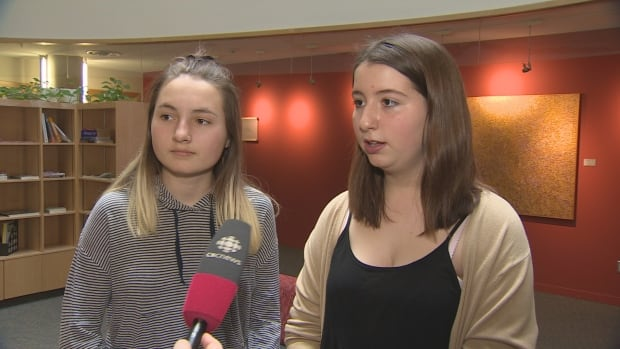"Tessa Hill, 15, and Lia Valente, 14, started their ""We Give Consent"" campaign and petition more than a year ago with the aim of getting consent included in Ontario's sex-ed curriculum."