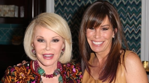 Melissa Rivers, right, announced Tuesday some items from her late mother Joan's Manhattan penthouse will be up for auction in June.