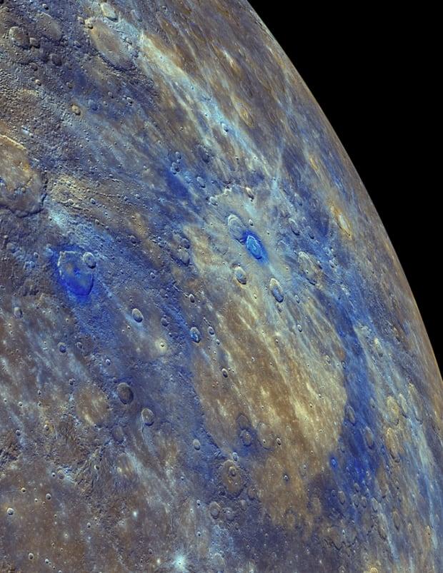 Dark material Mercury