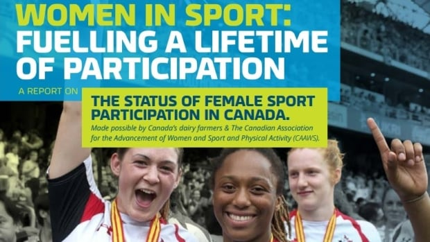 A new report says the status of women and girls in sport in Canada needs attention.